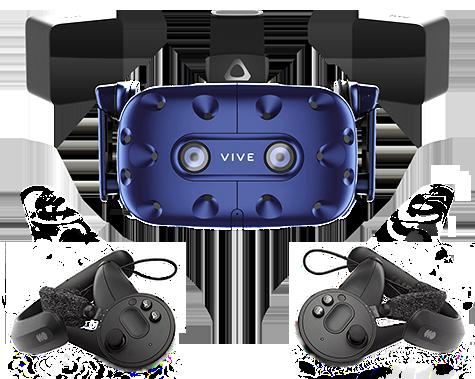 Vive Pro Starter + Контроллеры Valve Index