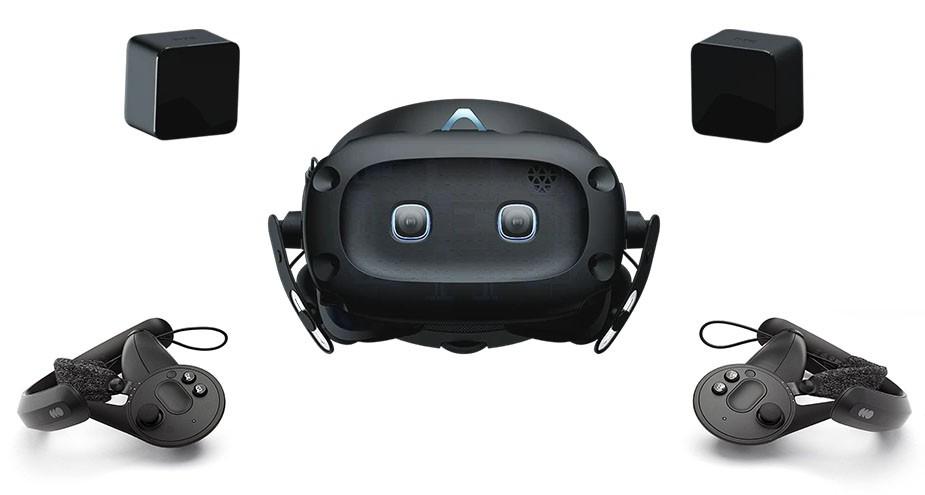 Контроллеры Valve Index + Vive Cosmos Elite