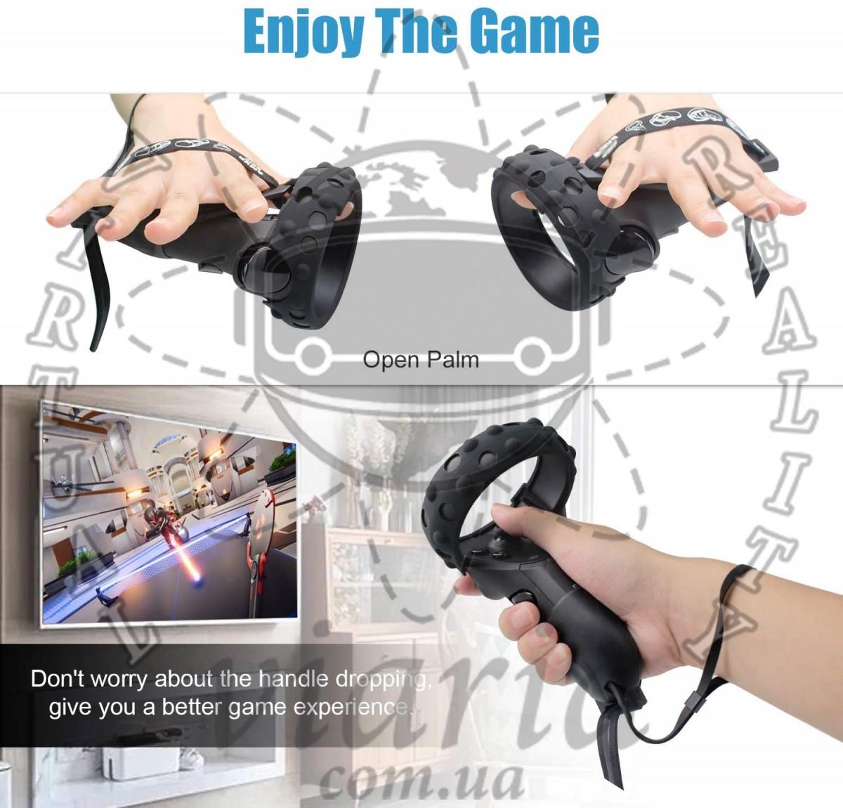 Защитный чехол с затяжками для Oculus Touch (Oculus Quest, Rift S)