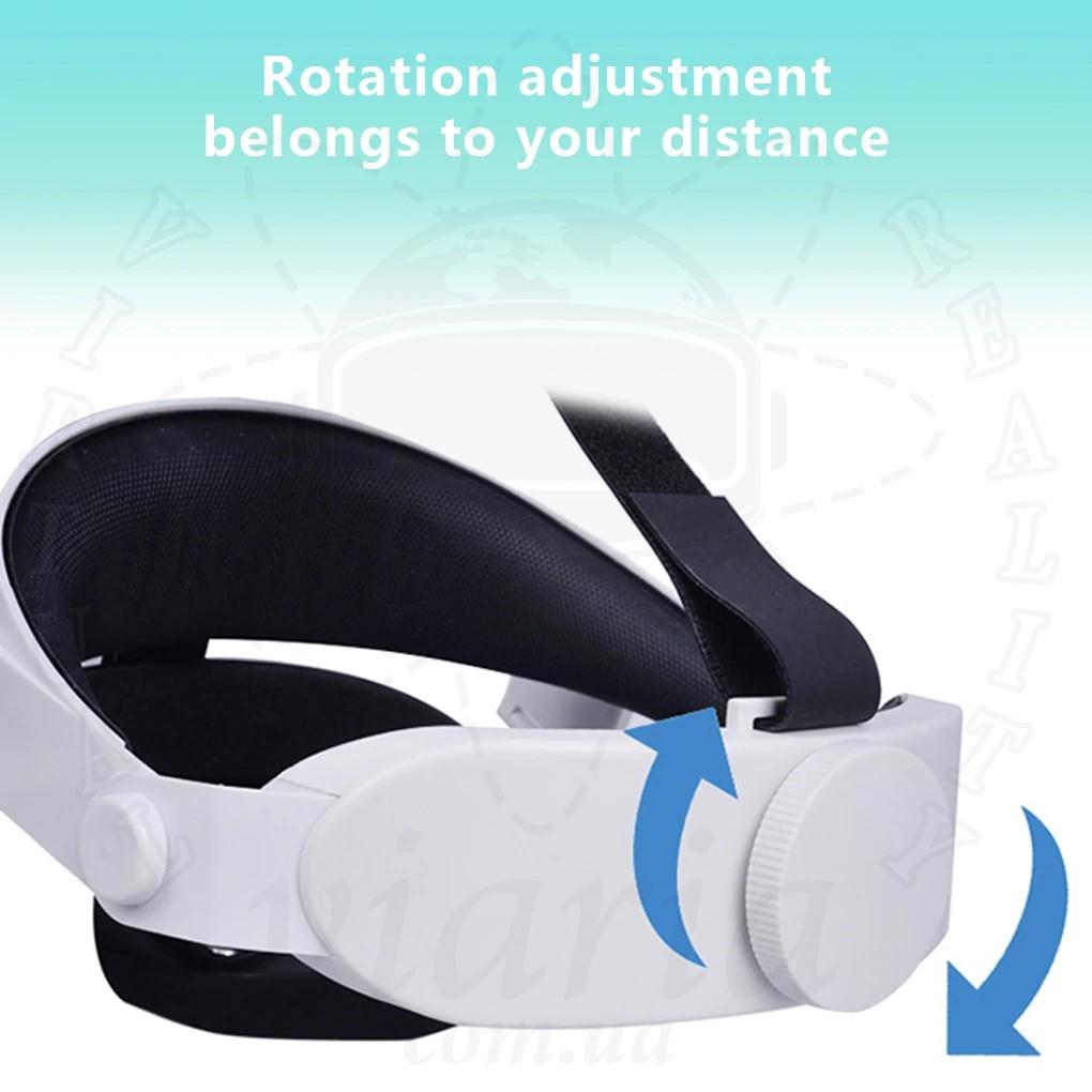 Улучшенное крепление на голову для Oculus Quest 2