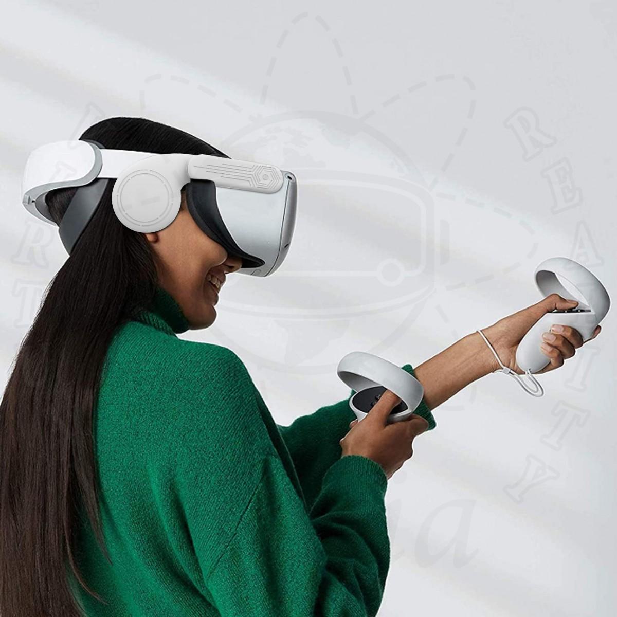 Силиконовая накладка на уши для Oculus Quest 2