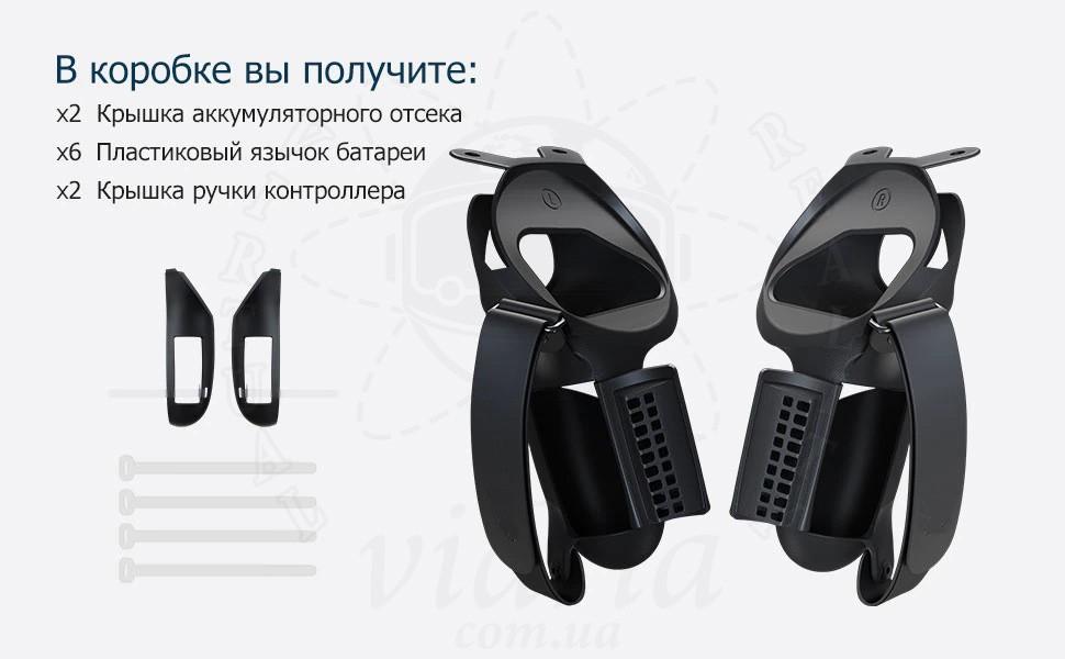 Силиконовый чехол с открывающимися панелями для контроллеров Oculus Quest 2