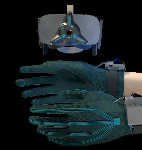 VRfree Haptic Glove